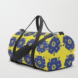Japanese Samurai flower Duffle Bag