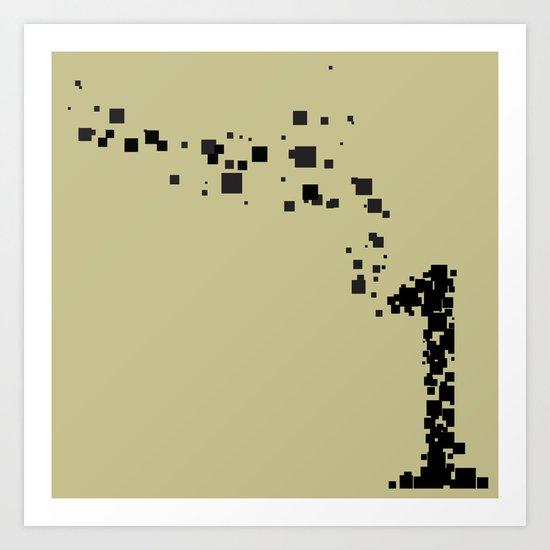 square 1 Art Print
