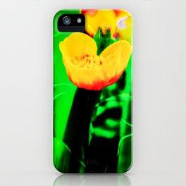 Flowers magic marsh Marigold iPhone Case