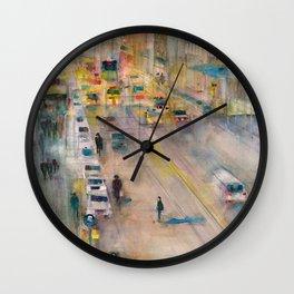 New York City Street View form High Line Wall Clock