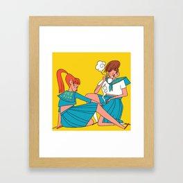 Japanese Yankees Framed Art Print