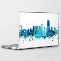 san francisco Laptop & iPad Skins featuring San Francisco by mark ashkenazi