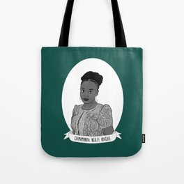 Chimamanda Ngozi Adichie Illustrated Portrait Tote Bag