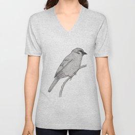 A Bird named Johan Unisex V-Neck