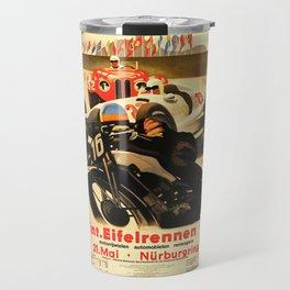 Nurburgring Race, vintage poster Travel Mug