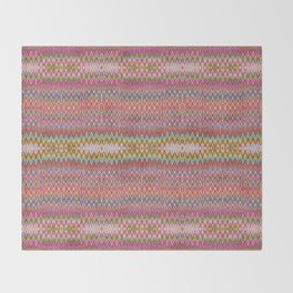 Missoni Style Throw Blanket