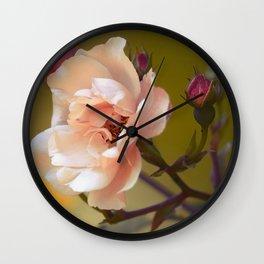 Beautiful spring flower Wall Clock