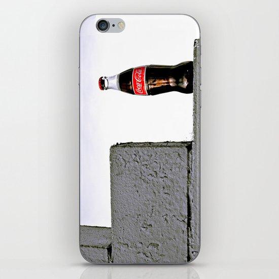 Grit city cola iPhone & iPod Skin