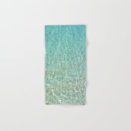 Colors of the Sea Water - Clear Turquoise Hand & Bath Towel