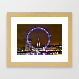The London Eye  Framed Art Print