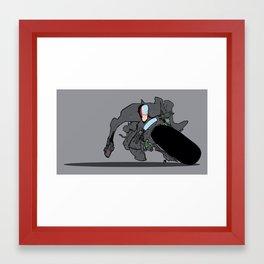 joe bike Framed Art Print