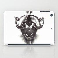 buffalo iPad Cases featuring Buffalo  by tangledribbons
