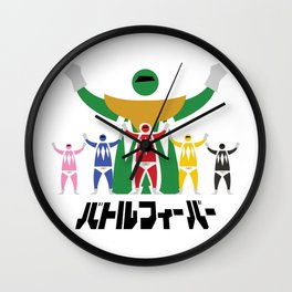 Super Sentai Wall Clock