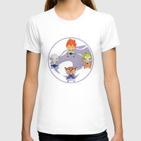 thundercats T-shirts featuring A Boy - A Girl - Thundercats by Christophe Chiozzi