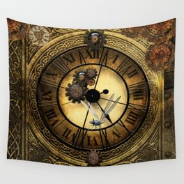 Steampunk design Wall Tapestry