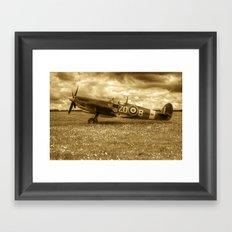 Spitfire MH434 Framed Art Print