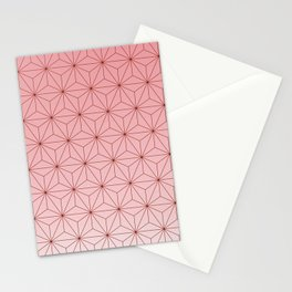 nezuko pattern 2 Stationery Cards