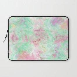 Tangled Green Fireworks Laptop Sleeve