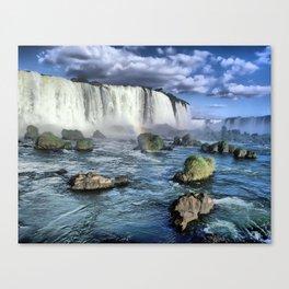IguacuFalls Brazil Canvas Print