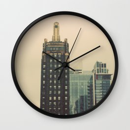 Carbide and Carbon Building Chicago Wall Clock