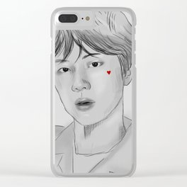 Jin Fanart Clear iPhone Case