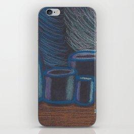 Blue Rhapsody Minimalist iPhone Skin