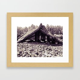 A Ruin with Millions of Secrets Framed Art Print