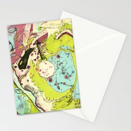#17 We Went So Fast Our Souls Fell Out Stationery Cards