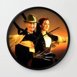 Freddie Krueger as Jack Dawson Wall Clock