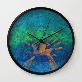 The Day the Sky Fell Wall Clock