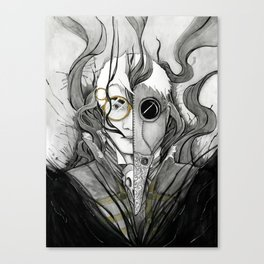 Percy Divided Canvas Print