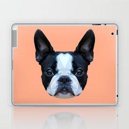 Frenchie / Boston Terrier // Peach / Apricot Laptop & iPad Skin