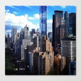 Hello Manhattan! Canvas Print