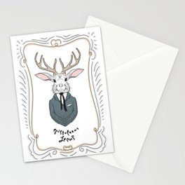 Epistolarus Lepus (milk) Stationery Cards