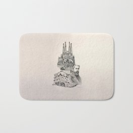 Tribute to Gaudi Bath Mat