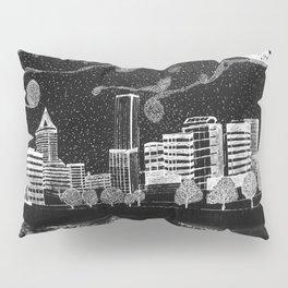 Portland Oregon Skyline Pillow Sham