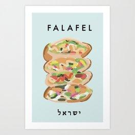 Falafel Poster  Art Print