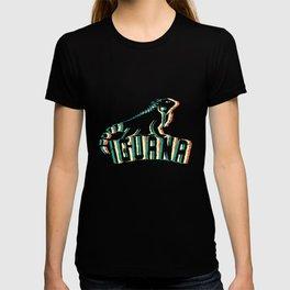 Iguana love reptile hobby pet gift T-shirt