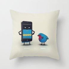 Appman & Tweetin' Throw Pillow