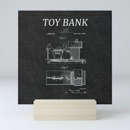 Toy Bank Patent 16 Mini Art Print