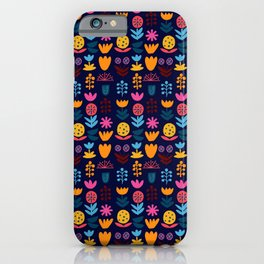 Malmo Blooms iPhone Case