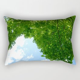 Dublin Trees & Sky Rectangular Pillow