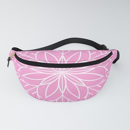 Single Snowflake - Pink Fanny Pack