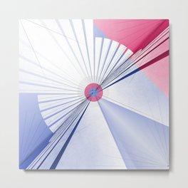 Pattern colors 2016 rose quarz and serenity blue Version 5 Metal Print