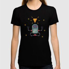 Do androids dream of electric pizza: T-shirt