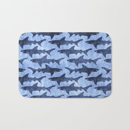 Blue Ocean Shark Bath Mat
