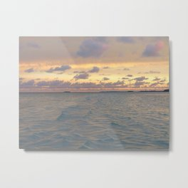Micronesia sunset Metal Print