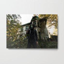 Abandoned portrait Metal Print