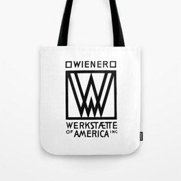 Wiener Werkstaette of America Tote Bag