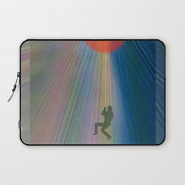 reach out and touch confidence Laptop Sleeve